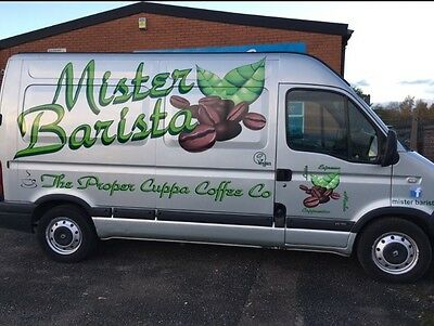 Mobile Coffee Van, ready to go, priced to sell!