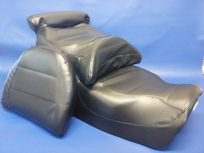GL1500 Seat Cover Gold Wing Goldwing & BACKREST B   in 25 COLORS