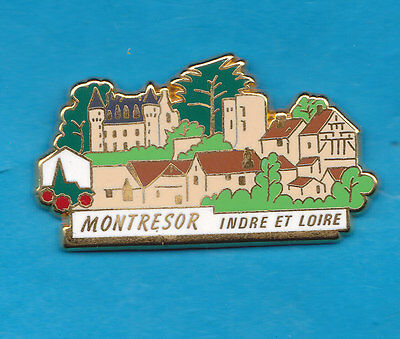 Pin's Plus Beaux Villages De France Montresor Indre Et Loire Pbvf Lb Creation +