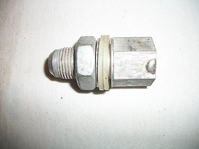 Rci -8 An Fuel Cell Vent Roll/tip Over Check Ball Valve Aluminum Fitting In Tank