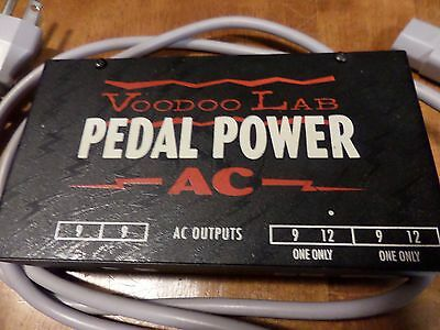 Voodoo Lab Pedal Power AC 120V with Power Supply Adapter Cord