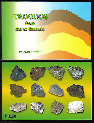 Book Cyprus Troodos opheolite sea rocks Ron Dutton GEOLOGY
