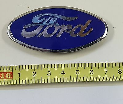 Alte Auto Plakette - Ford Radiator Emblem Badge Model A 1928 - 1931 (50)