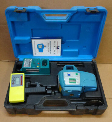 Mikrofyn ML10x Long Range Rotary Laser Level with Receiver