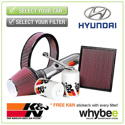 HYUNDAI Coupe All K&N KN Performance Filters inc Air, Oil & Intake Kits - New!