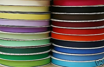 Grosgrain Ribbon ~ 9mm , 16mm or 25mm ~ Assorted Colours ~
