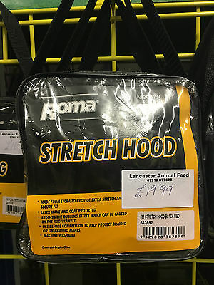 Roma stretch hood size small