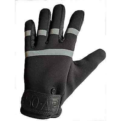 50-AP NightGuardian Anti Slash Gloves - Neoprene, Kevlar Lined, Police, Security