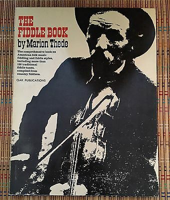 The Fiddle Book, by Marion Thede:  1966 Soft Back, R