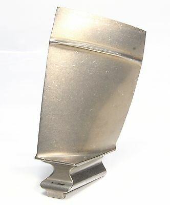 Titanium Pratt & Whitney Aircraft Jet Turbine Engine Blade - For Collectors