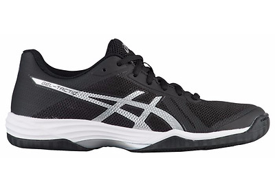 Asics Gel Tactic 2 Women's B752N.9093 Black/Silver/White Volleyball Shoes