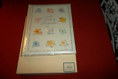 "Vintage Hallmark ""a Precious Keepsake"" Baby Memory Scrap Book Album New In Box"