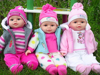 DOLLS Babies-Newborn-Lifelike-Cuddly-Floppy-Baby-Doll-Girl-Boy