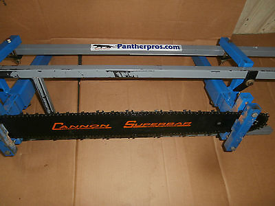 "NEW Cannon ""SUPERBAR"" 30 inch chainsaw bar 3/8 Pitch .058/**1 CHAIN INCLUDED**"