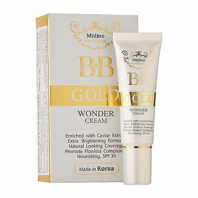 Korean BB Cream Mistine Gold Wonder with Caviar Extract SPF 30 Make-Up Uk Seller
