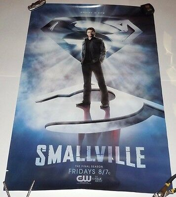 Smallville Final Season 10 Poster CW Superman DC Comic PROMO TV 24 x 36 Inch
