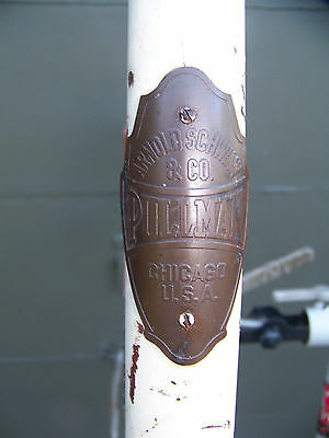 Pre War ARNOLD SCHWINN & Co.PULLMAN BICYCLE SKIP TOOTH CRANK   VINTAGE SCHWINN