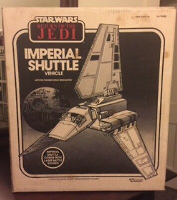Star Wars ROTJ Imperial Shuttle Sealed Never Opened
