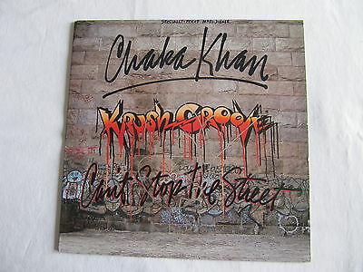 Chaka Khan Signed Autographed Ep Krush Groove Can't Stop The Street In-Person