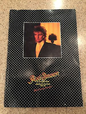 Rod Stewart Le Grande Tour Program 1981/82 Vintage Book