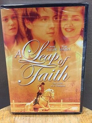 A Leap of Faith (DVD, 2006) NEW!! Jeremy London Christine Taylor