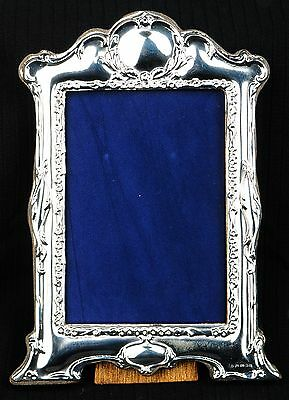 Hallmarked Silver Photo Frame. London hallmark.