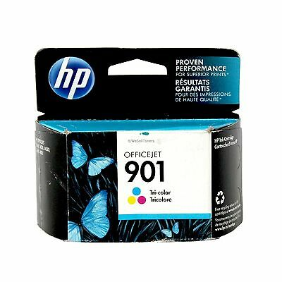 HP 901 Tri-Color Ink Cartridge CC656AN Genuine New