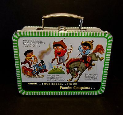 """1960 Vintage Rare R9 Mexican issue Pancho Pantera Lunchbox Nicest i""""ve seen !!!"""