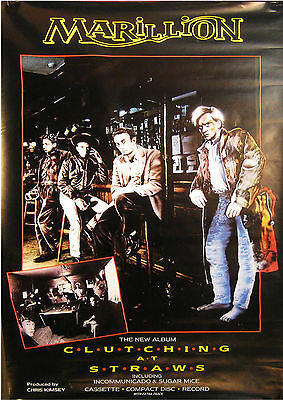 Marillion Clutching at Straws GIANT IN-STORE PROMO POSTER 3.5X5 foot VG