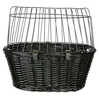 Trixie Bicycle basket with grid black, 50 x 41 x 35 cm, NEW