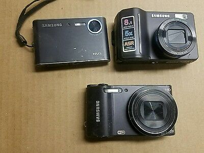 Lot Of 3 Samsung Cameras