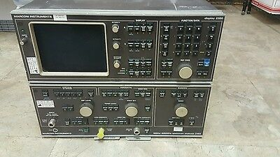 Marconi spectrum analyzer display 2380