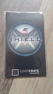LOOT CRATE exclusive Marvel Agents of SHIELD EFX Badge Lanyard Replica Sealed