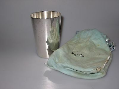 Vintage Tiffany & Co Sterling Silver Makers Mint Julep Cup Tumbler