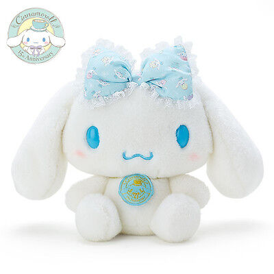 Sanrio Cinnamoroll 15th Anniversary Plush Doll (Ribbon)