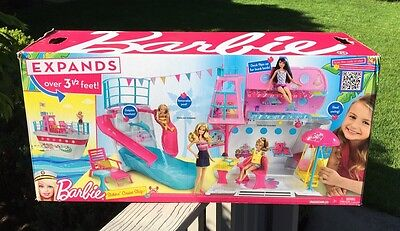 Barbie Sisters Cruise Ship - New In Box