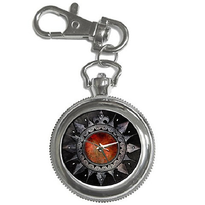 Gothic Goth Style Fashion Round Keychain Watch - Great Item