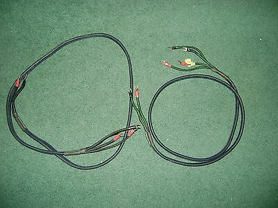 Audioquest Gibraltar Psc Double Quadhelixes  Speaker Wire --     5 Foot Each