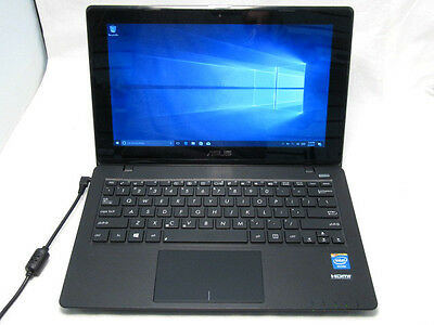 Asus X200CA 11.6 HD TouchScreen Laptop Computer 1.5Ghz 4GB HDMI Win10 NO BATTERY