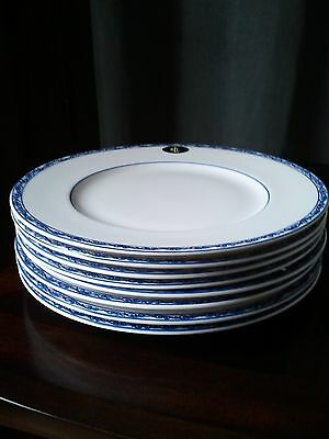 Ralph Lauren Mandarin Blue Set of 8 Dinner Plates NWT
