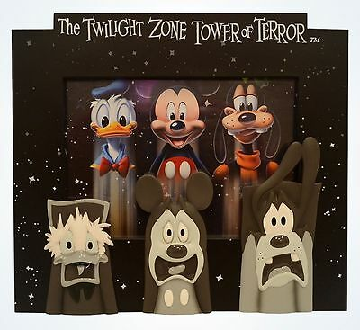 Disney Parks Mickey & Friends Tower of Terror 5x7 Photo Picture Frame New