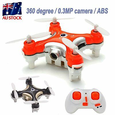 CX-10C 4 Shafts Remote Control Drone Helicopter Quadcopter With 0.3MP Camera AU