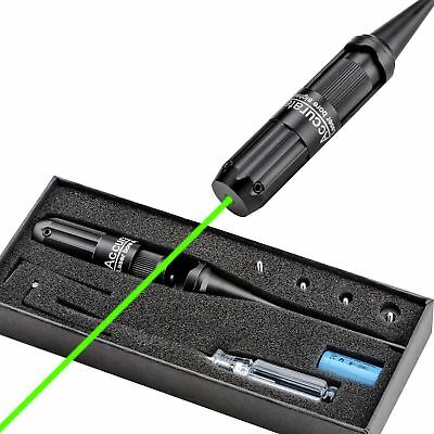 CVLIFE Green Laser BoreSighter Collimator Boresighter for .22 to .50 Rifle Scope