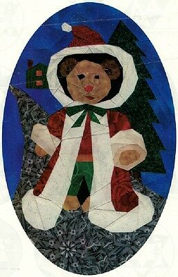Santa Bear Foundation Pieced Quilt Pattern - 0087