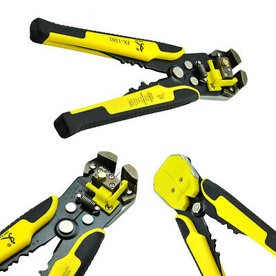 New Electric Cable Wire Stripper Cutter Crimper Automatic Multifunctional Plier
