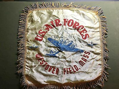 Genuine Wwii U.s. Air Forces Westover Field Mass. Pillow Cover - Usaaf
