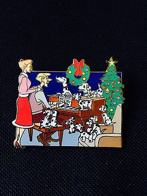 Disney Shopping Home For The Holidays 101 Dalmatians Christmas LE 250 Pin