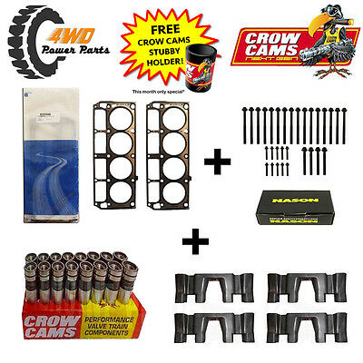 LS1 Head Gaskets and Bolts (3 Length) + Roller Lifter & Guide Kit
