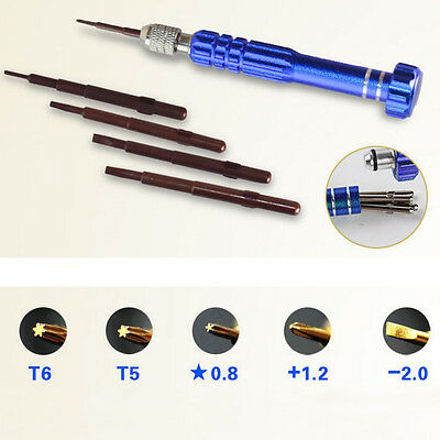5 in 1 Precision Torx Screwdriver Cellphone Watch Repair Mixed Set Tool Kit