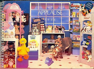 Vintage1986 Applause Plush & Gift Trade Catalog - 100+ Pages